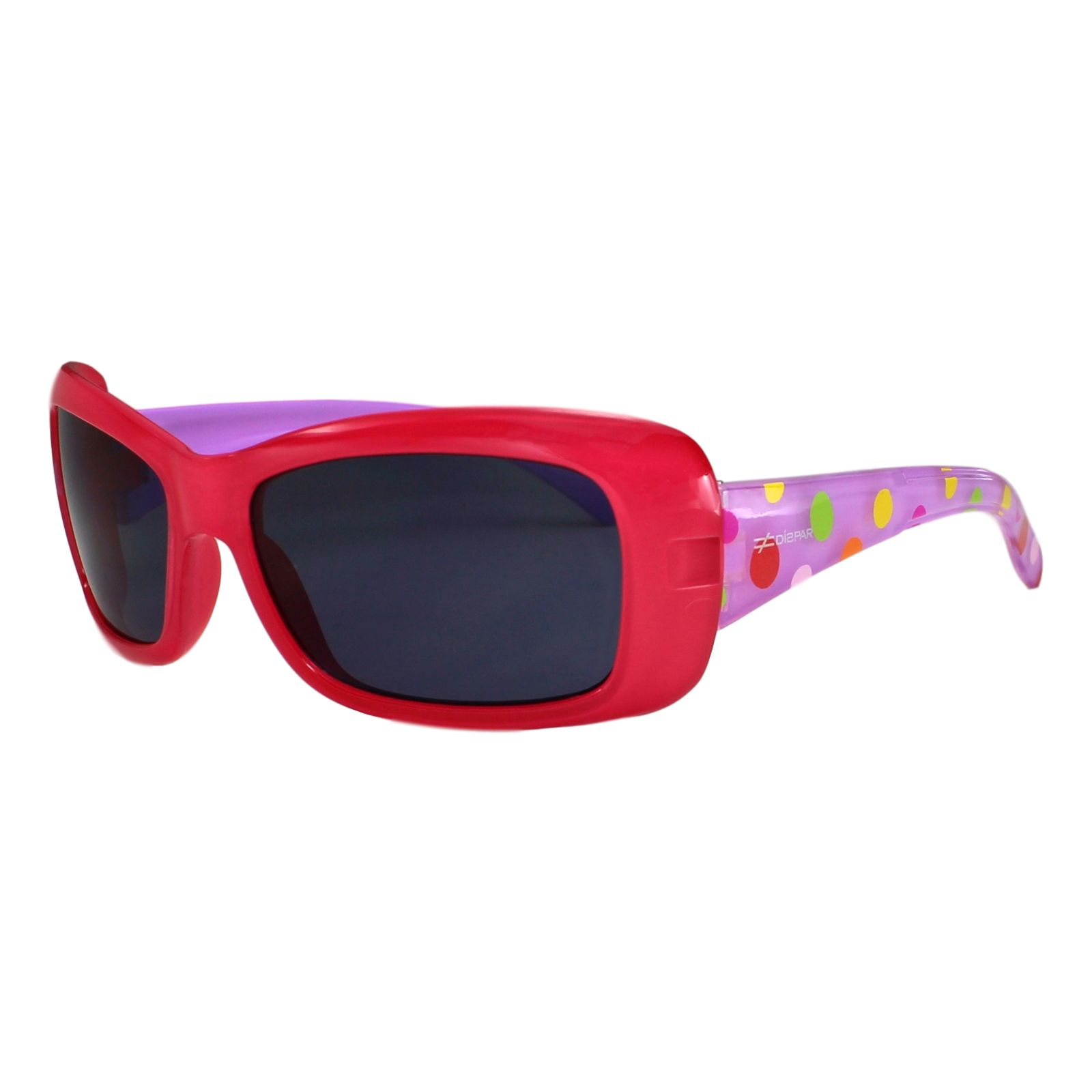Óculos de Sol Díspar ID1734 infantil - Vermelho