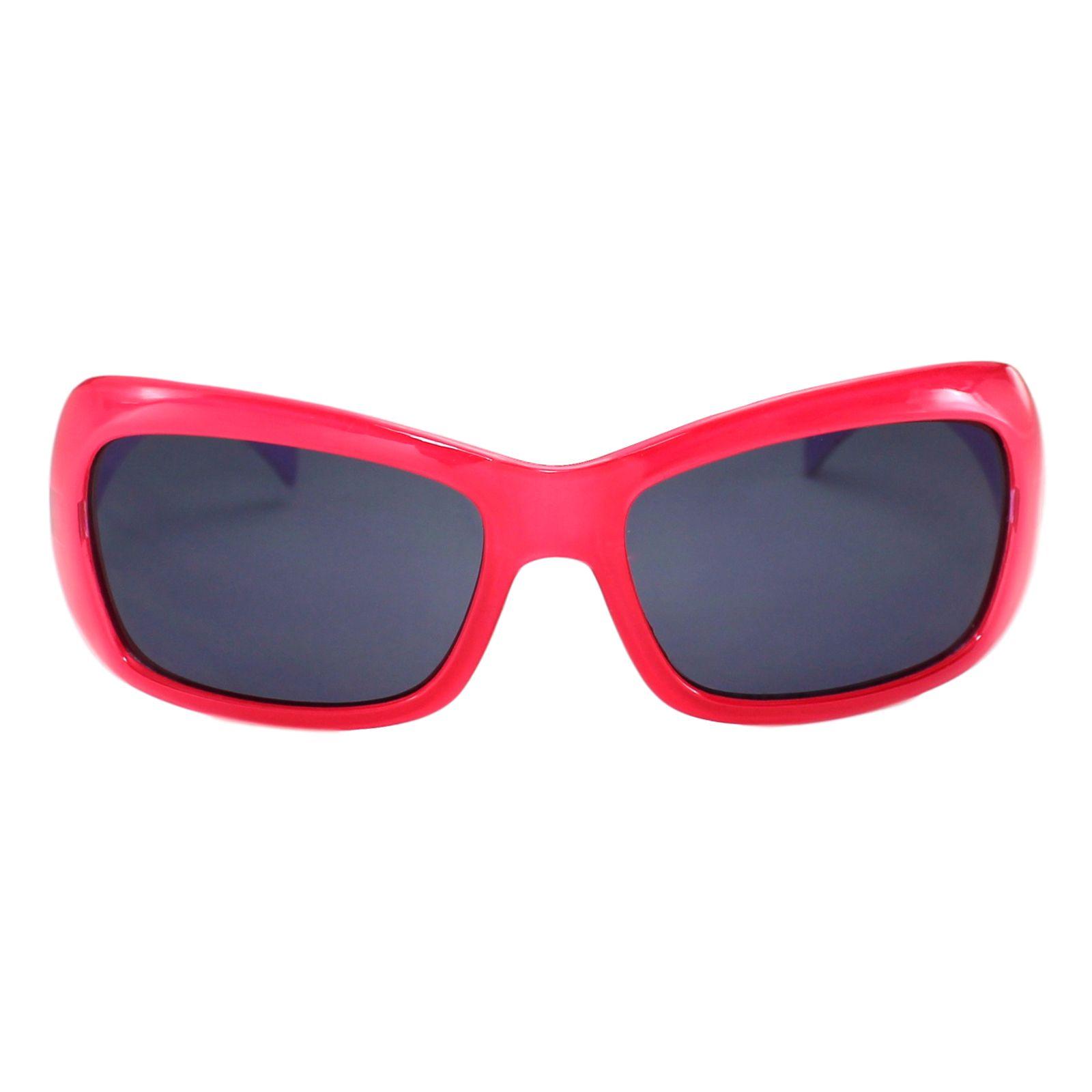 Óculos de Sol Díspar ID1734 Poá Infantil 6 a 9 anos - Proteção UV400 - Vermelho