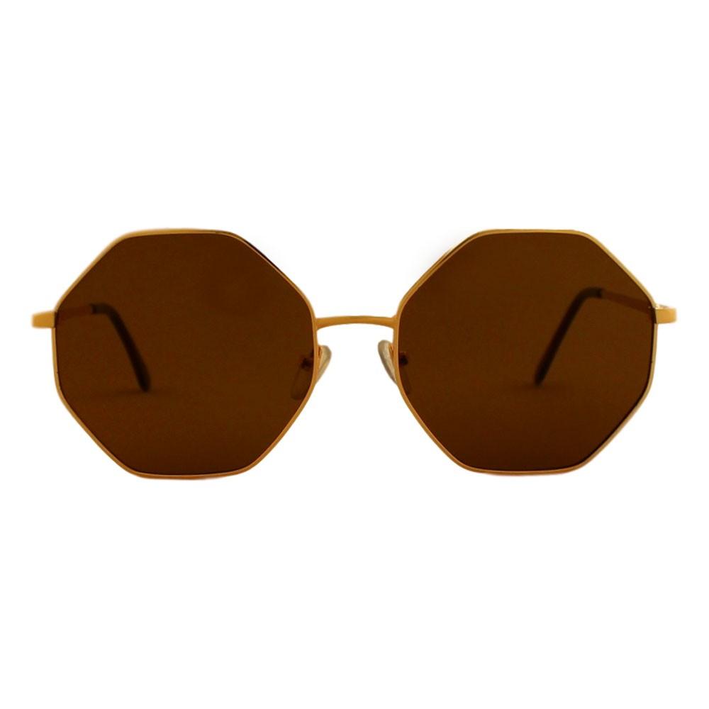 Óculos de Sol Sun John 5085 Octagon Dourado