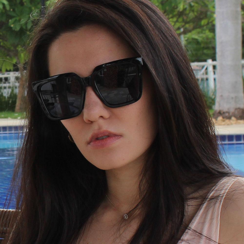 Óculos de Sol Sun John 5112 Fashion Preto