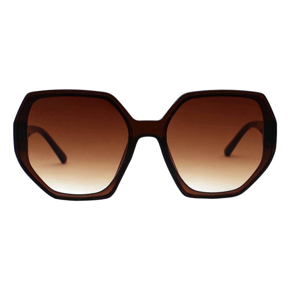 Óculos de Sol Sun John 5118 Geometric Marrom