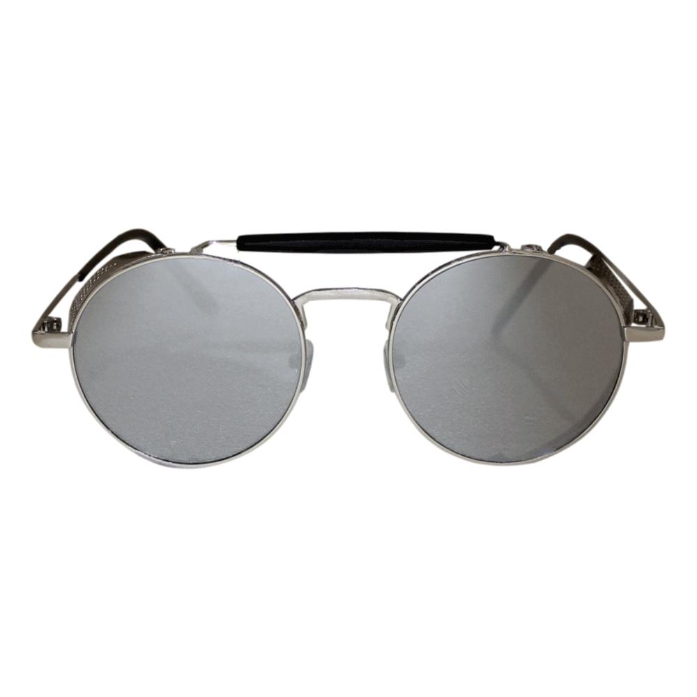 Óculos De Sol Sun John 5128 Round Side Protection - Prata