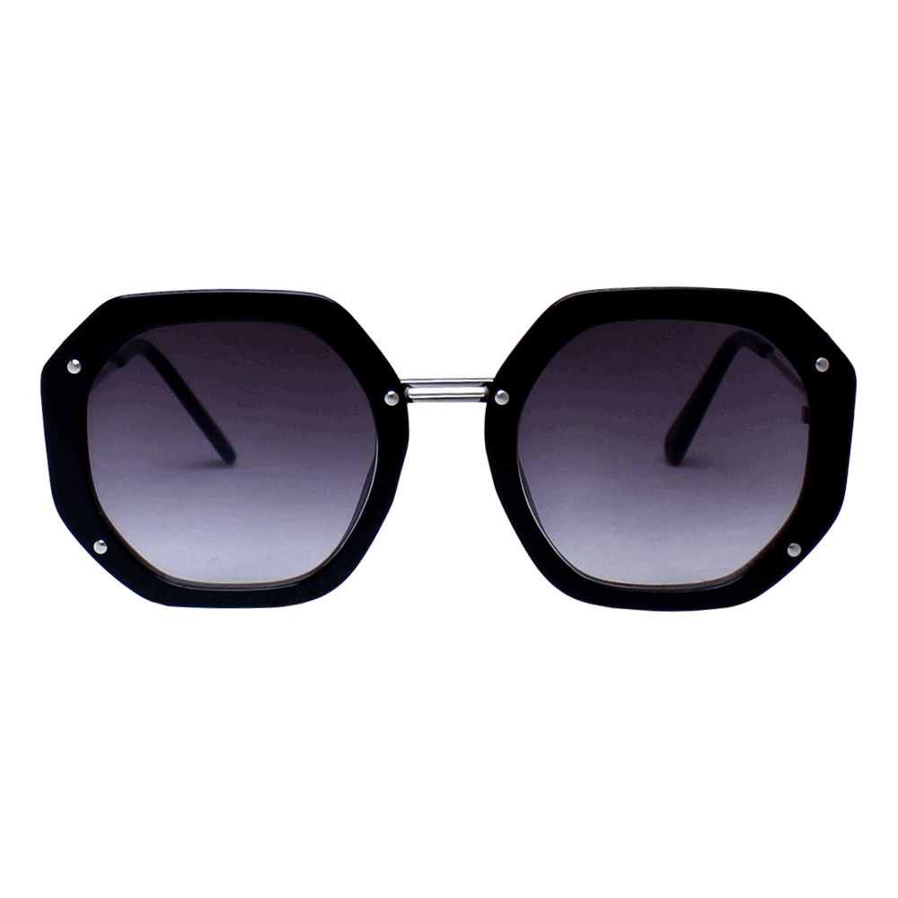 Óculos de sol Sun John 5130 Geometric - Preto