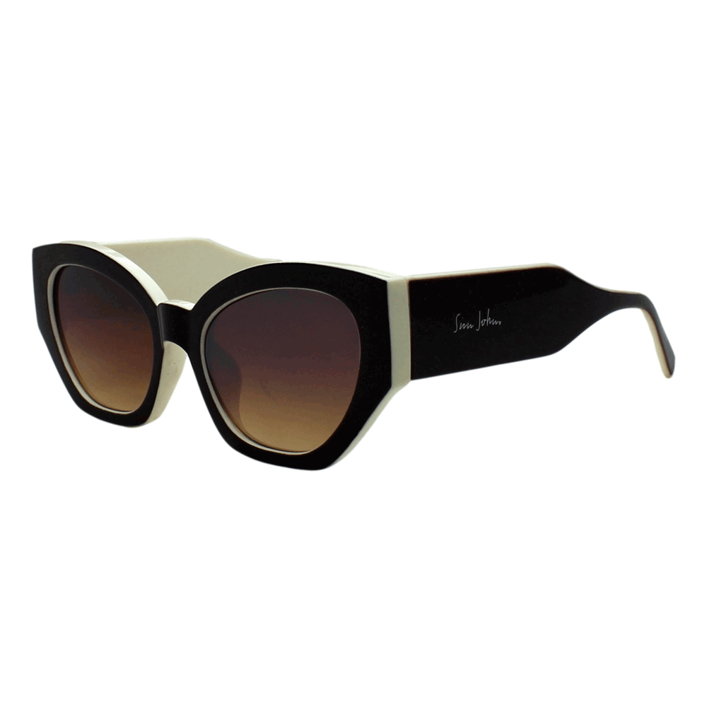 Óculos de sol Sun John 5137 - Marrom/Crema