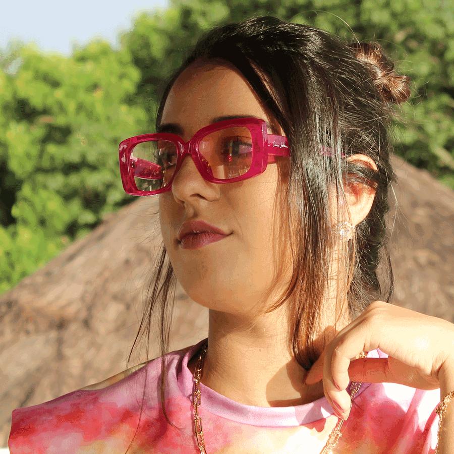 Óculos de sol Sun John 5140 - Pink