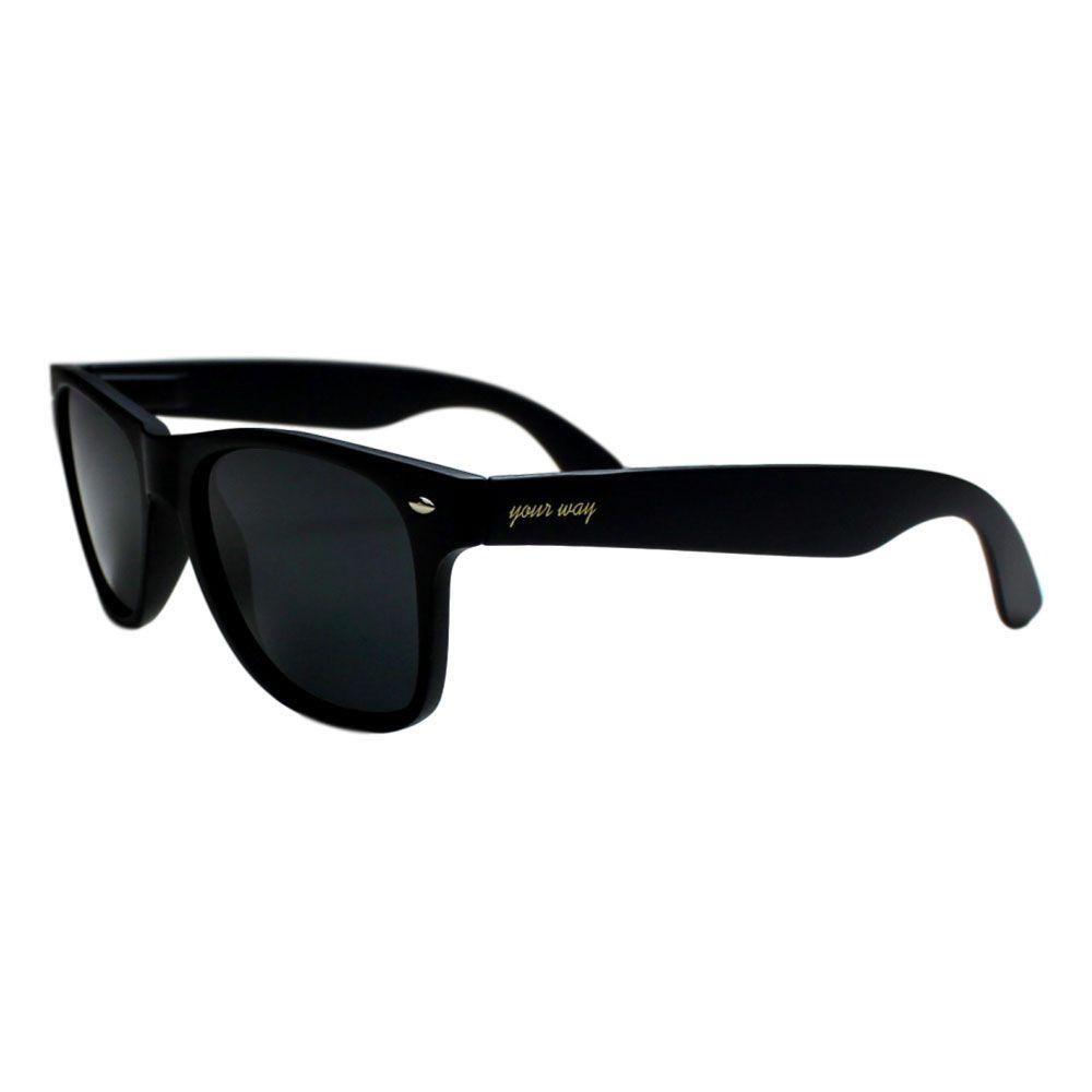 Óculos de Sol Your Way 4279YW60 - Preto Lentes Polarizadas