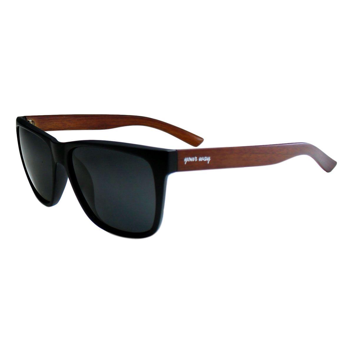 Óculos de sol Your Way 4285YW Lentes Polarizadas - Preto