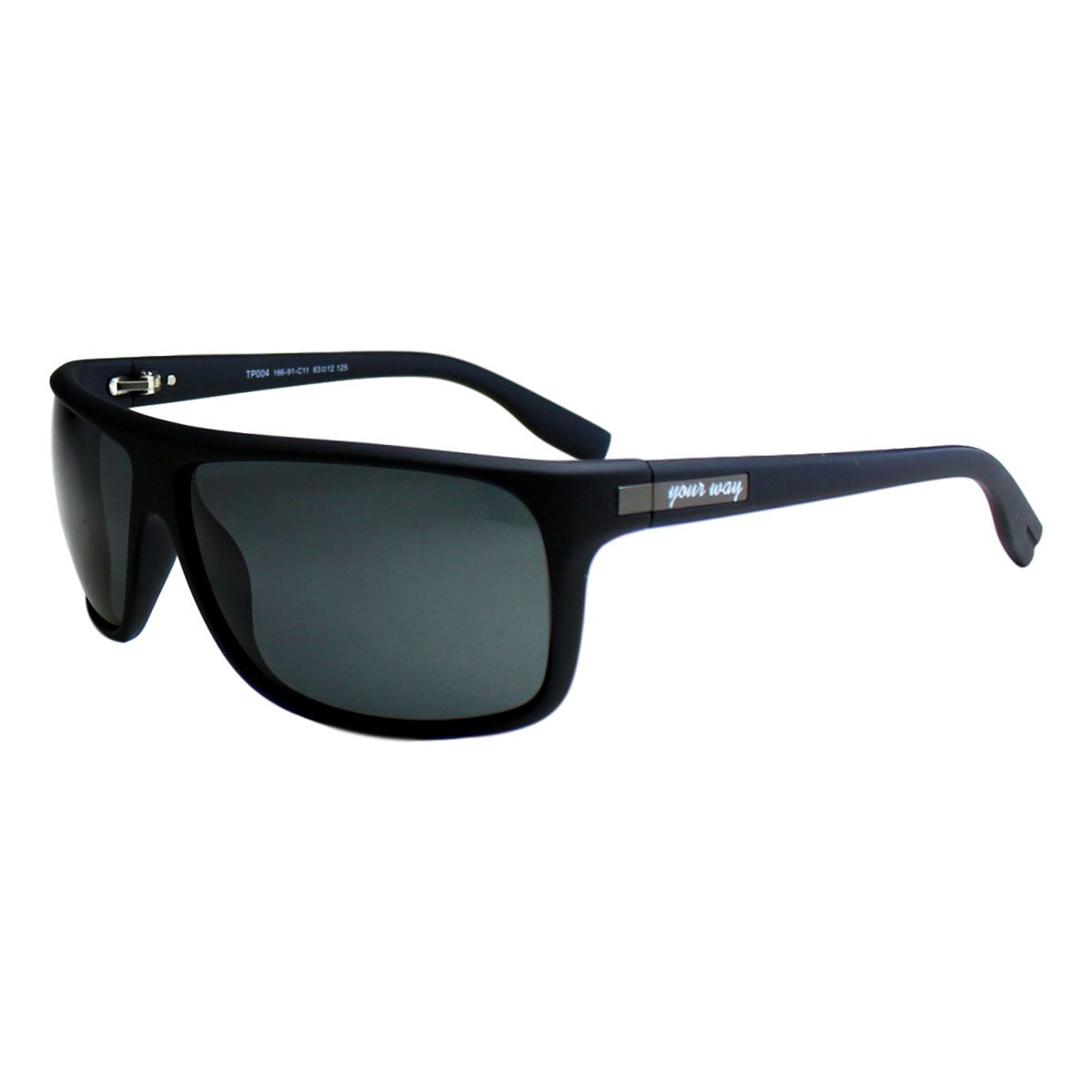 Óculos de sol Your Way 4287YW Lentes Polarizadas - Preto