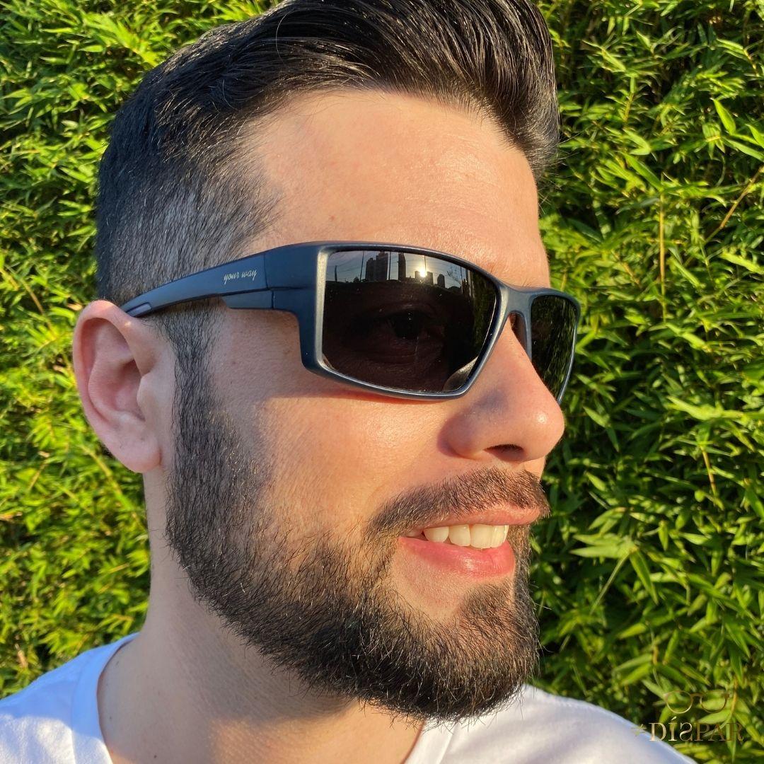 Óculos de sol Your Way 4295YW Lentes Polarizadas - Proteção UV400 - Azul