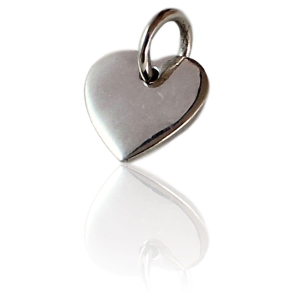 Pingente Díspar 2143 Coração - Prata