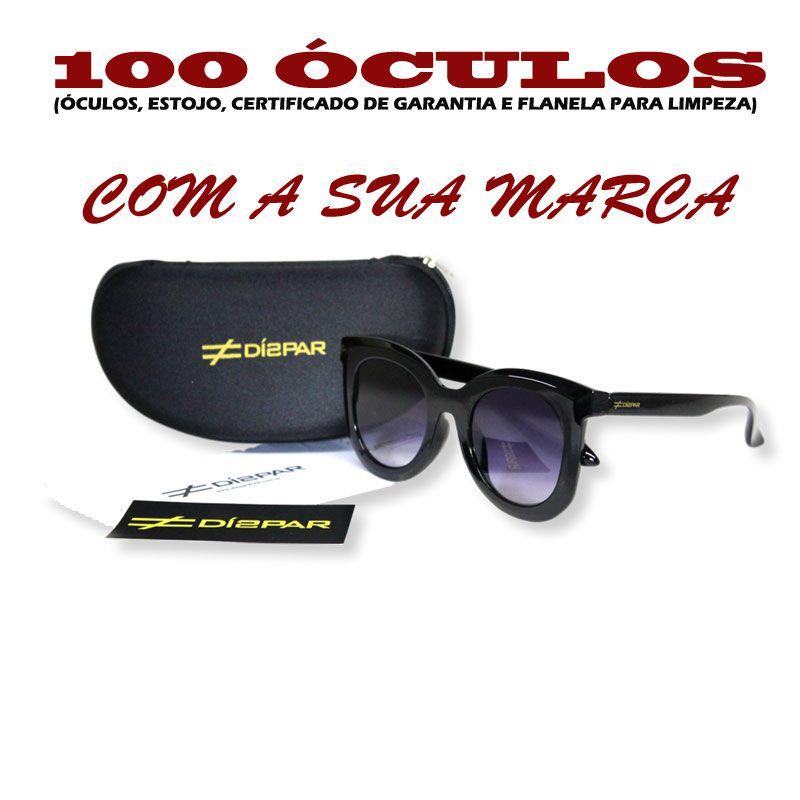 Venda Atacado 2231- 100 Kits de Óculos Personalizados