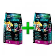 kit com 2 Sacos de Ração JBL All Seasons M 4,3kg