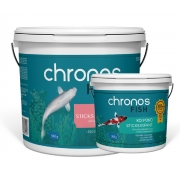 Ração Chronos Fish Koi Pond Platinum 3900g + Infant 1300g