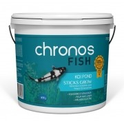 Ração Chronos Fish Koi Pond Sticks Grow 4000g Polinutri Carpas