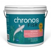 Ração Chronos Fish Koi Pond Sticks Platinum 3900g Polinutri Carpas