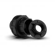 União Soldável 50mm Macho/Fêmea com Adaptador de 1 Polegada Cubos