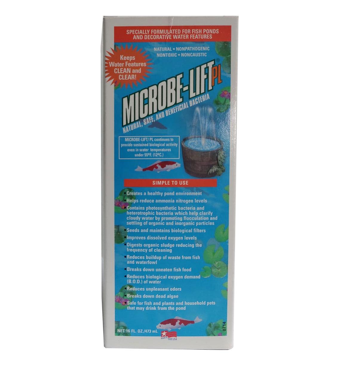 Acelerador Biológico PL Microbe-lift 473ml