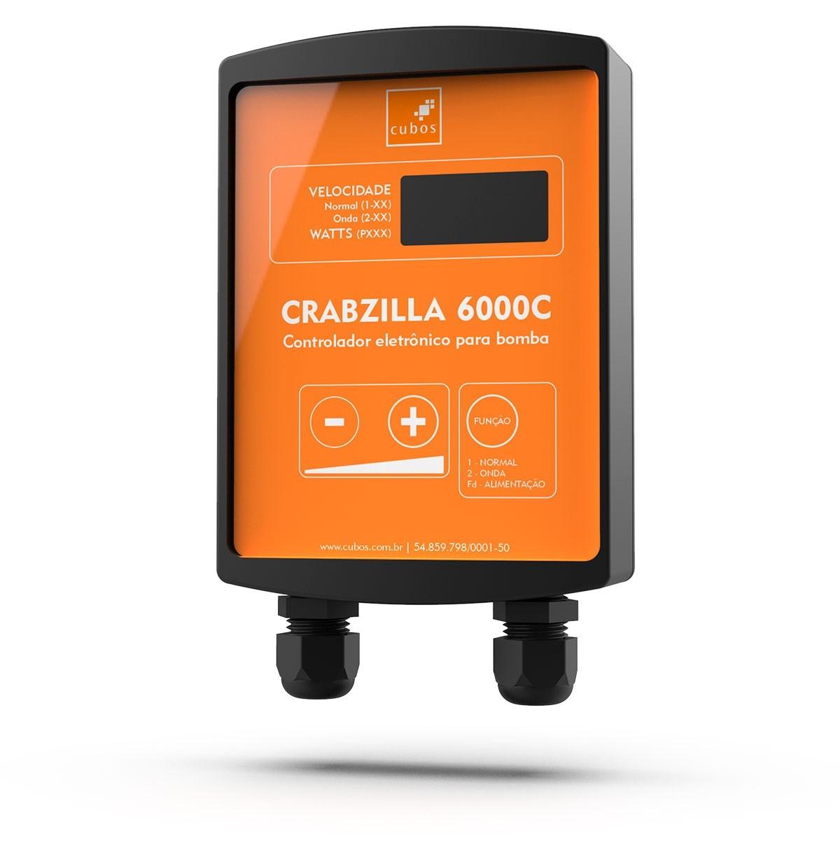 Bomba Crabzilla 6000C Cubos - Com Controlador para Lagos