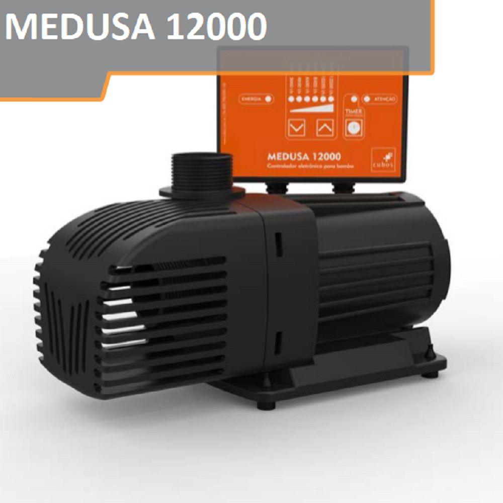Bomba Eletrônica Cubos Medusa 12000 L/h Com Regulagem Vazão