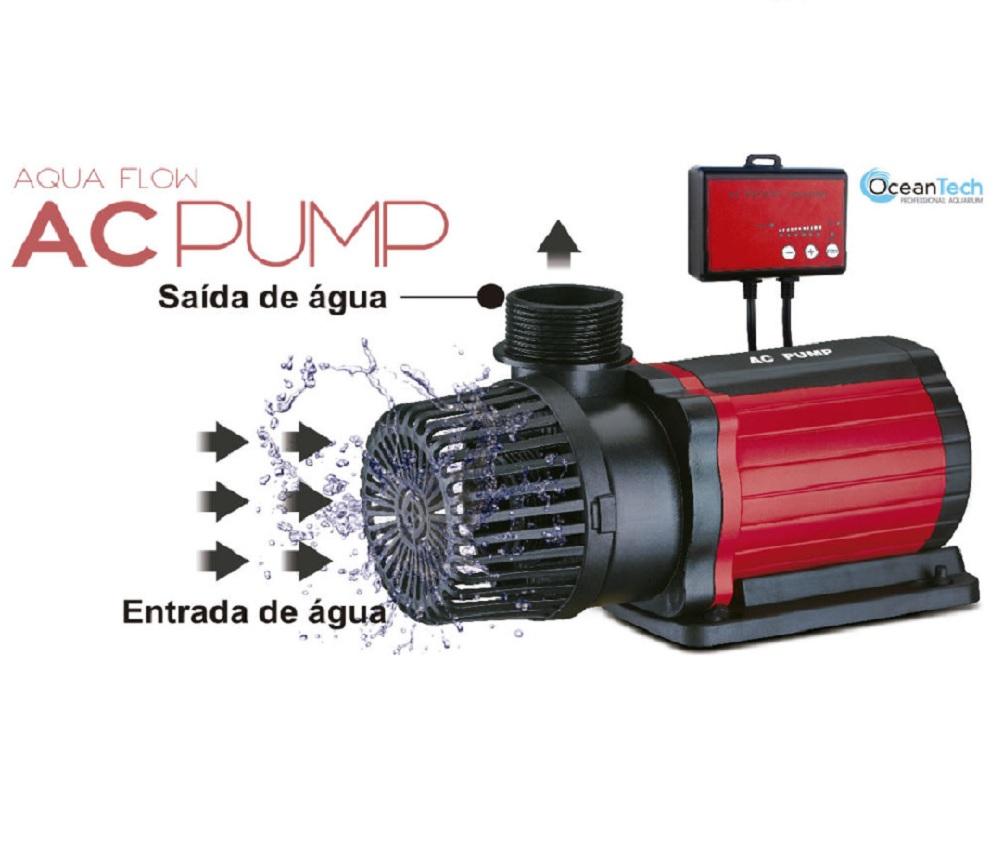 Bomba Submersa Ocean Tech AC Pump 30000 - Com Controle de Vazão Eletrônico