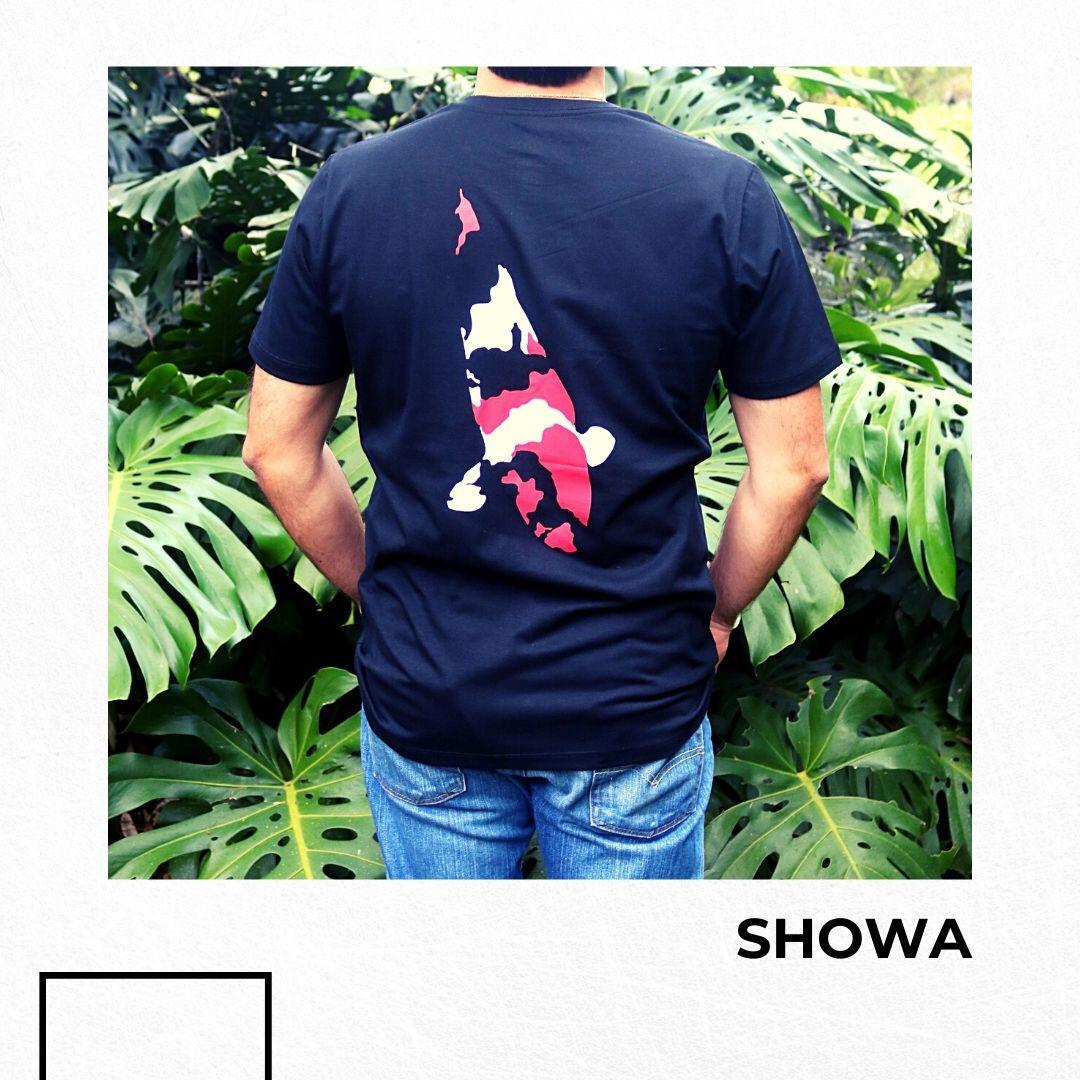 Camiseta Tagkoi  estampa Showa linha autoral
