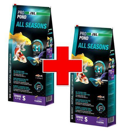 Combo com 2 Rações JBL Propond All Seasons S 4,3kg cada