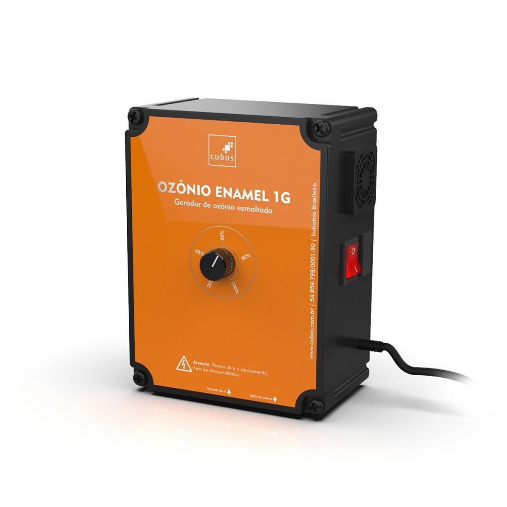 Cubos Ozônio Enamel 1G - Lago de 2000L à 10000L