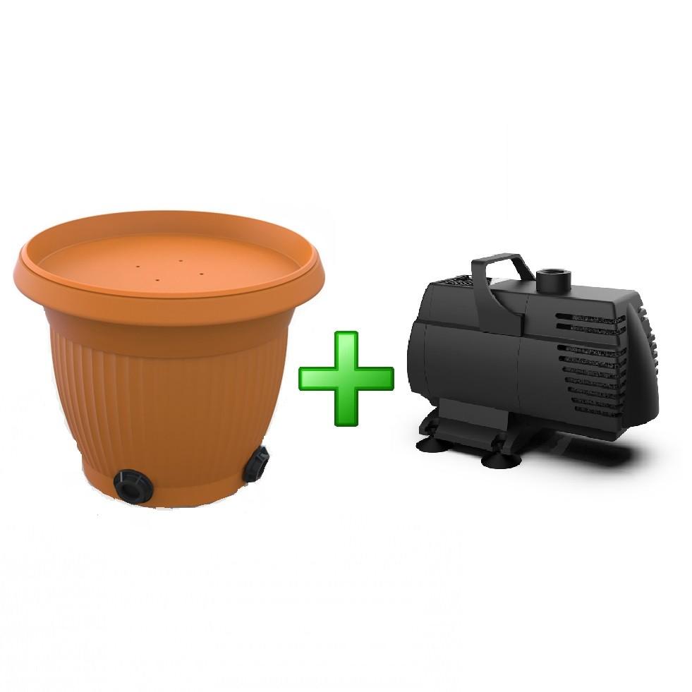 Kit Cubos Filtro em Formado de Vaso mais Bomba Jato 2500