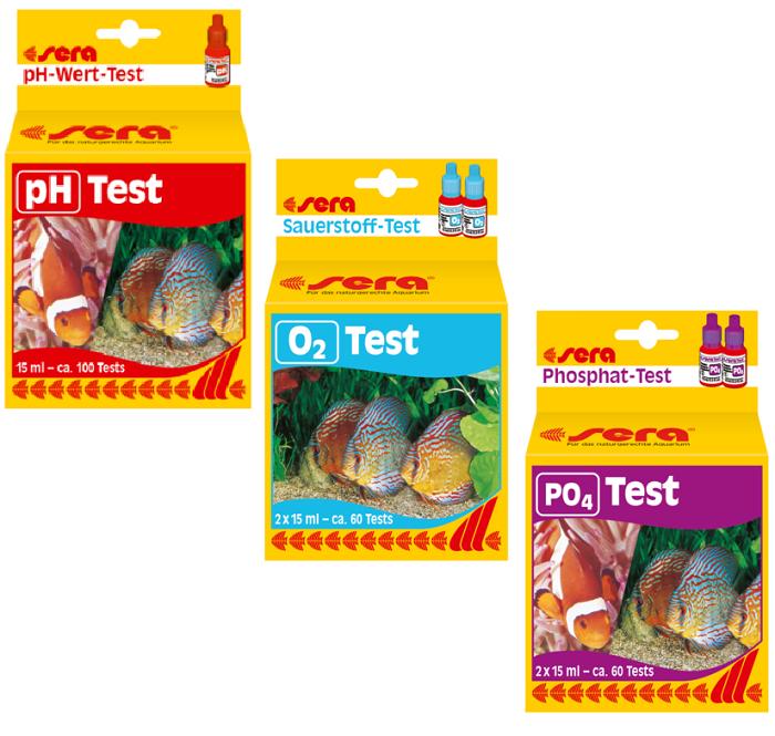Kit de Testes Oxigenação PH+O2+PO4 Sera
