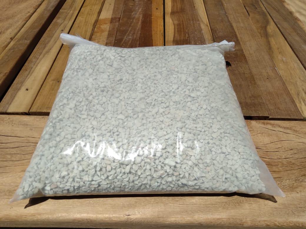 Mídia Biológica Cubos BioZ à Granel - 6,6L + Bag Ziper 50x40cm de Brinde