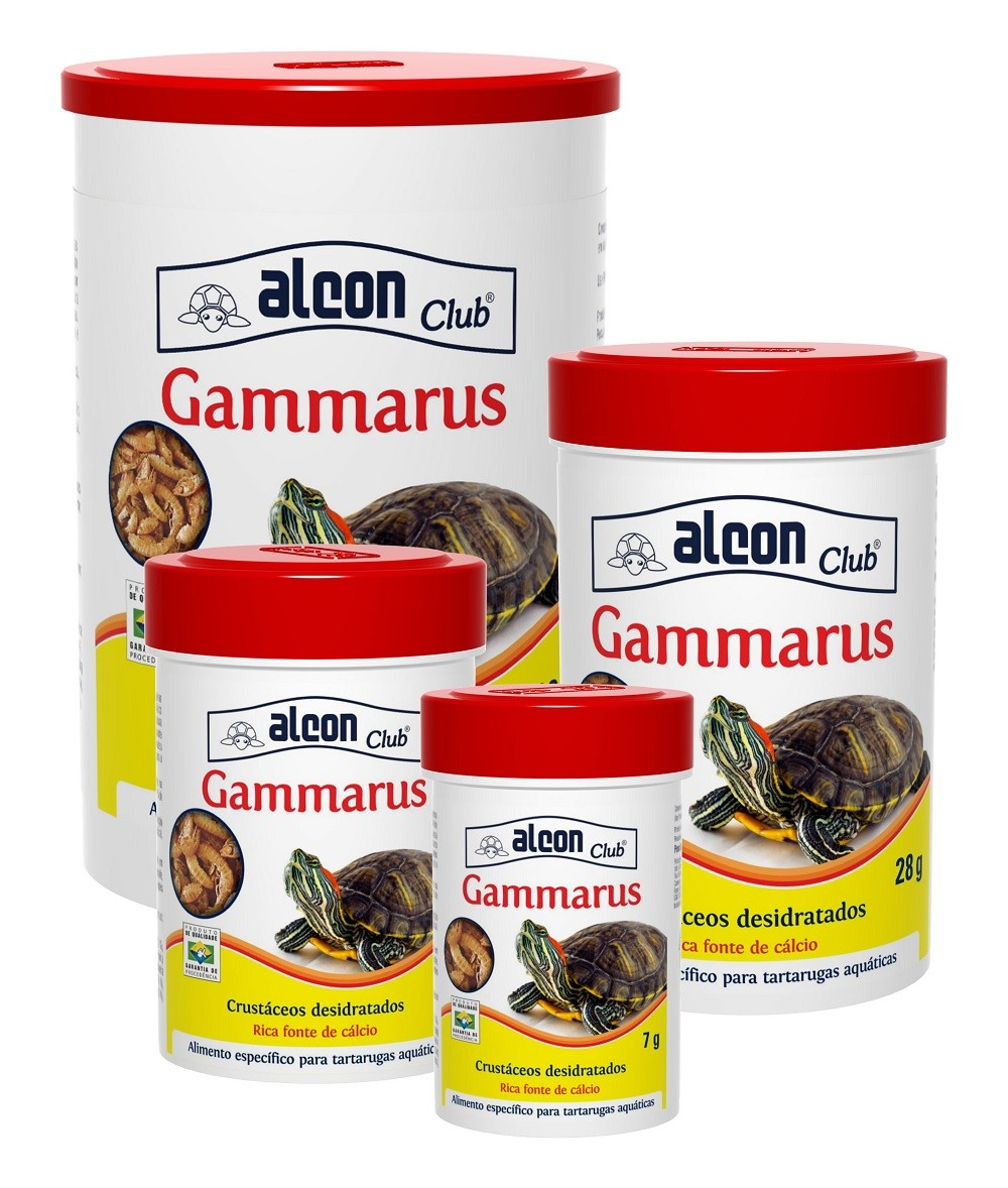 Ração Alcon Club Gammarus 110g - Camarão desidratado para Tartarugas Aquáticas