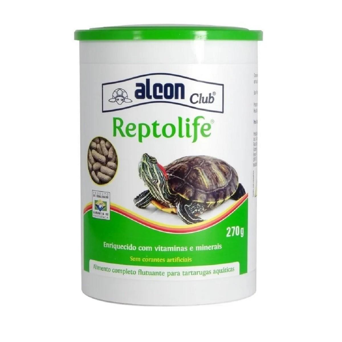 Ração Alcon Club Reptolife 270g - Para Tartarugas Aquáticas
