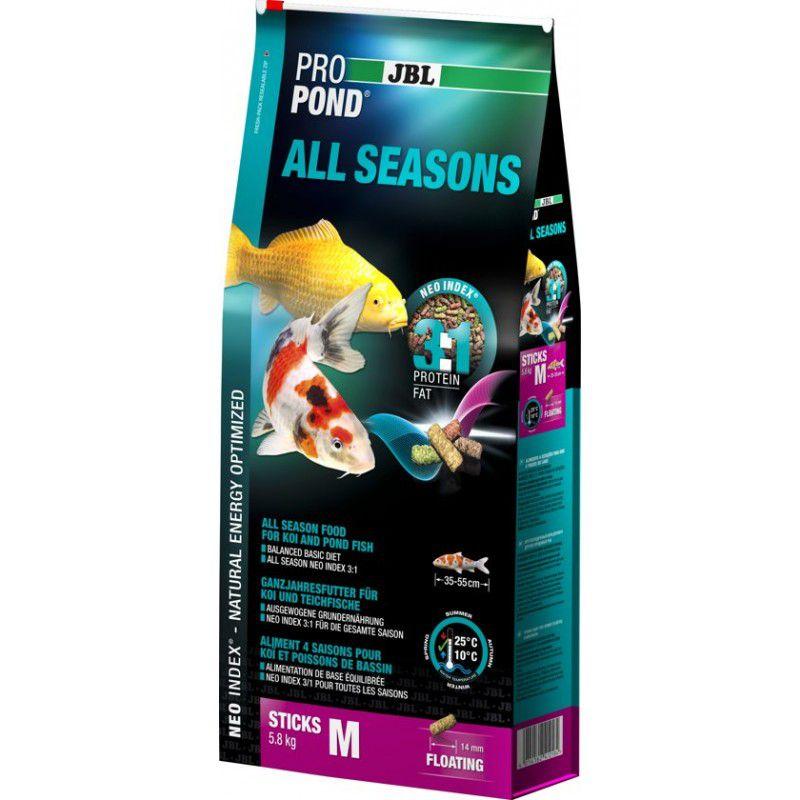 Ração JBL Propond All Seasons M - 5,8Kg Para Carpas