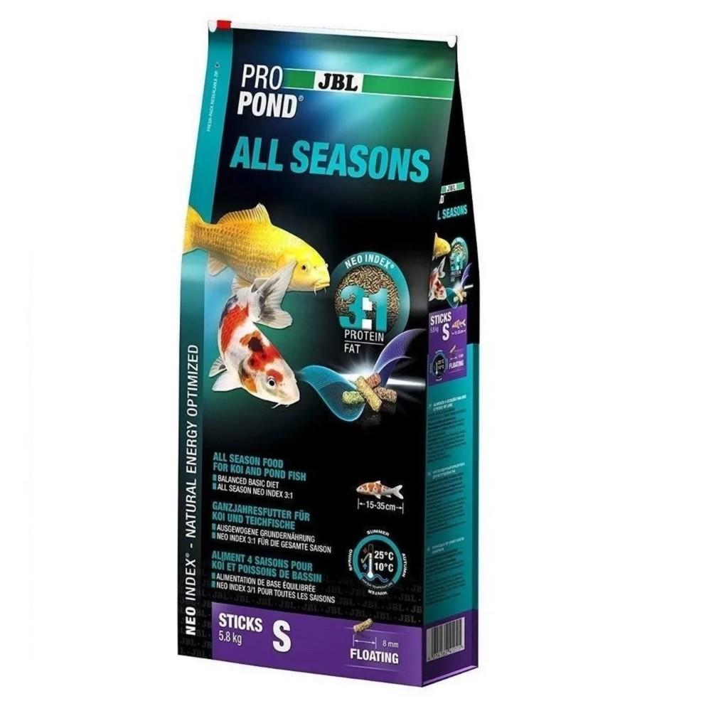 Ração JBL Propond All Seasons S 5,8Kg para Carpas Ornamentais