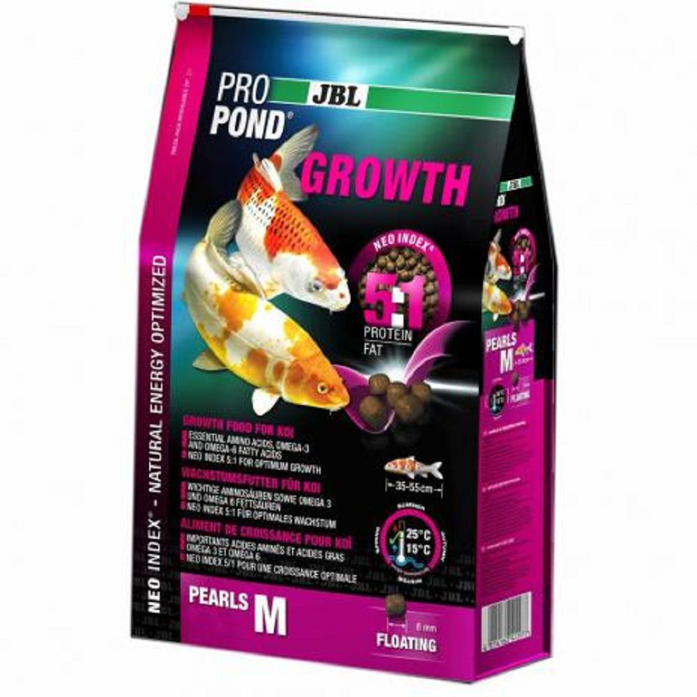 Ração JBL Propond Growth M 5kg P/ Carpas em Crescimento