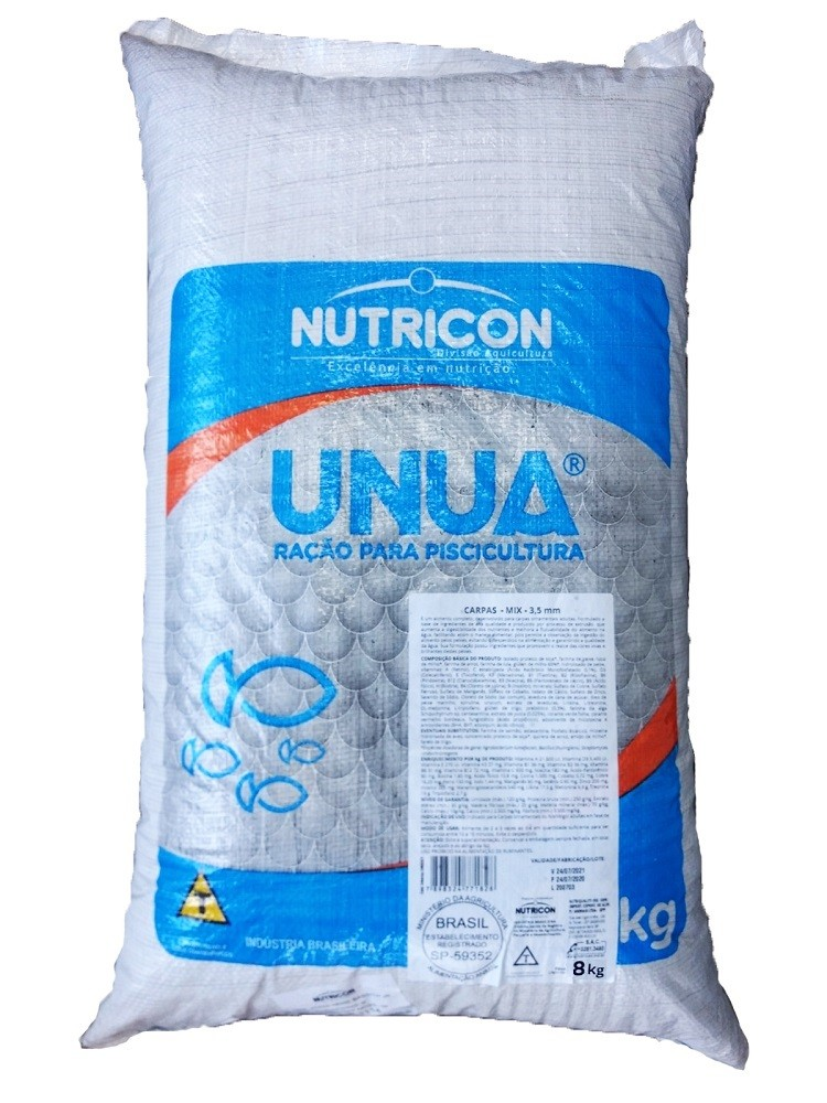 Ração Nutricon Sticks Foods Mix 8kg