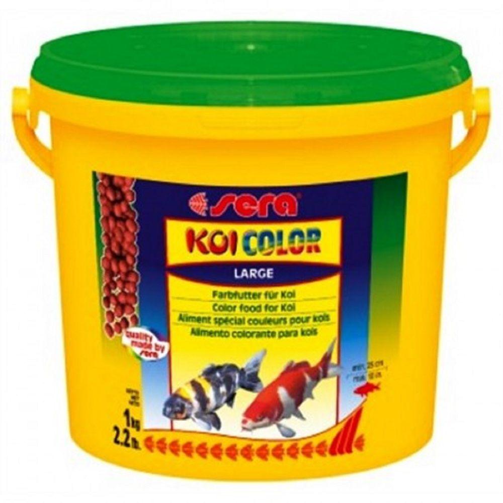 Ração Sera Koi Color Large - 1Kg Para Carpas