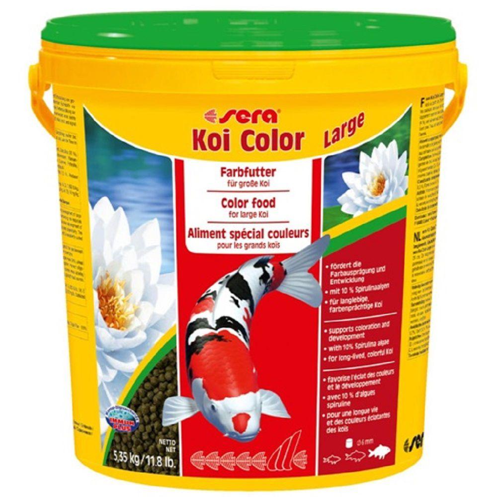 Ração Sera Koi Color para Carpas - Large 5,35kg