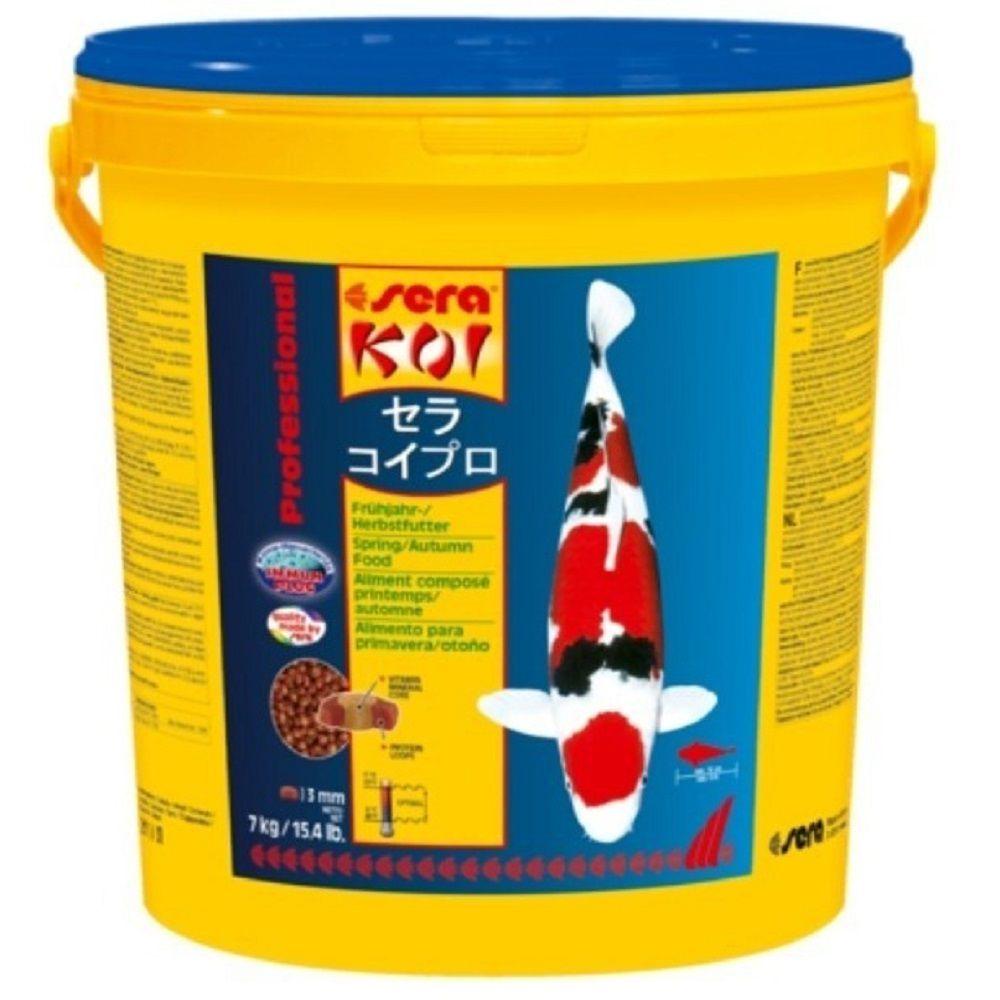 Ração Sera Koi Primavera/Outono Professional para Carpas - XLarge 7 kg