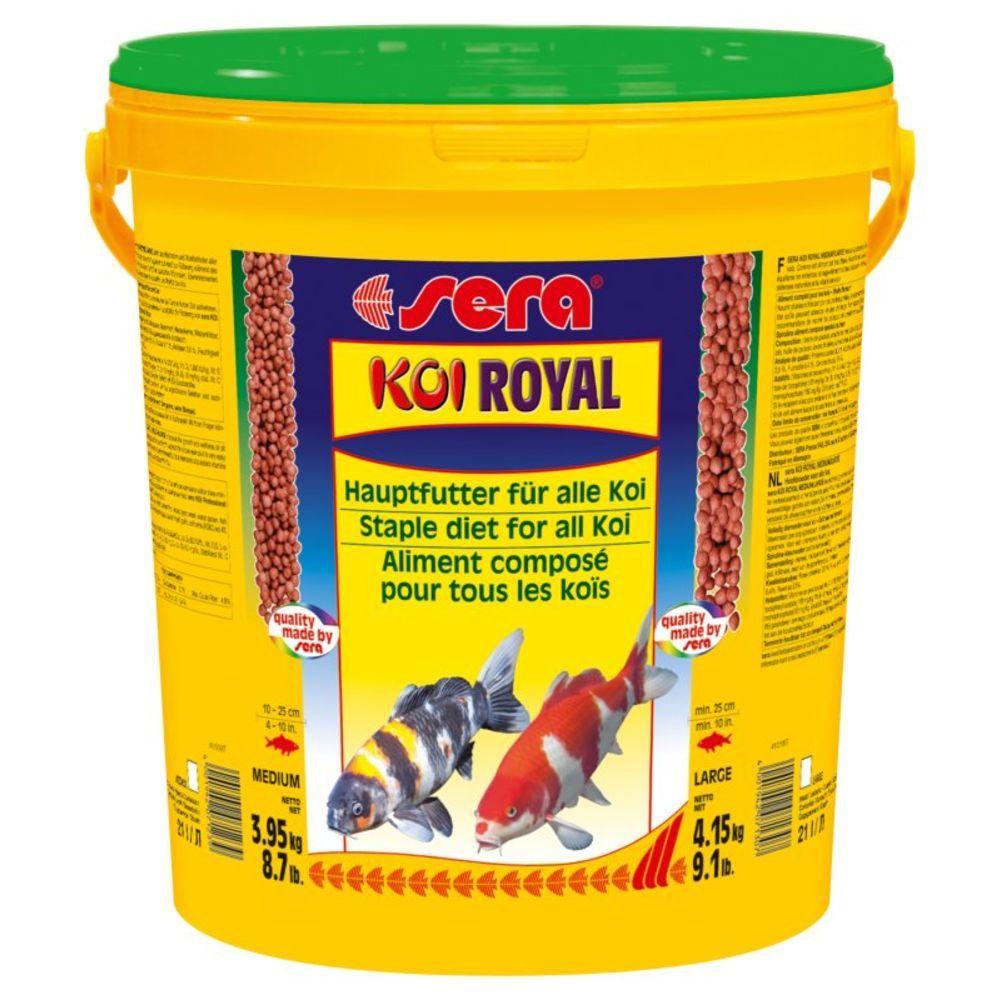 Ração Sera Koi Royal Large  4,15kg - Para Carpas