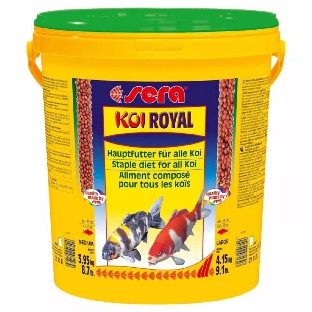 Ração Sera Koi Royal Medium - 3,95Kg