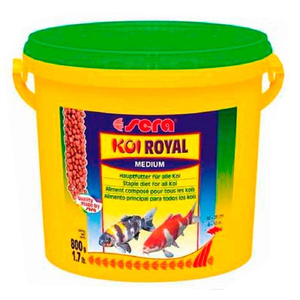 Ração Sera Koi Royal Medium - 800g