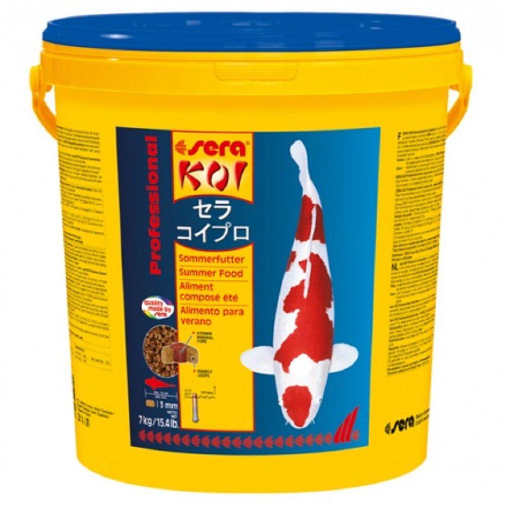 Ração Sera Koi Verão Professional para Carpas - XLarge 7kg