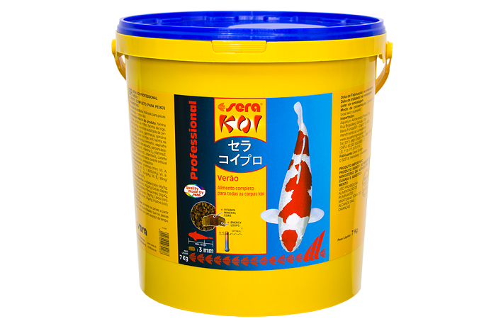 Ração Sera Koi Verão Professional para Carpas - XLarge 7 kg
