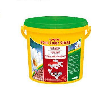 Ração Sera Pond Color Sticks - 1,5 kg