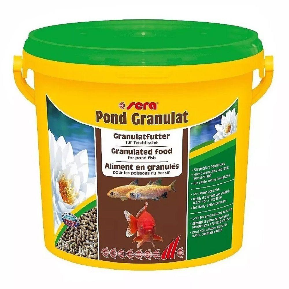 Ração Sera Pond Granulat para Carpas - 1,5 Kg