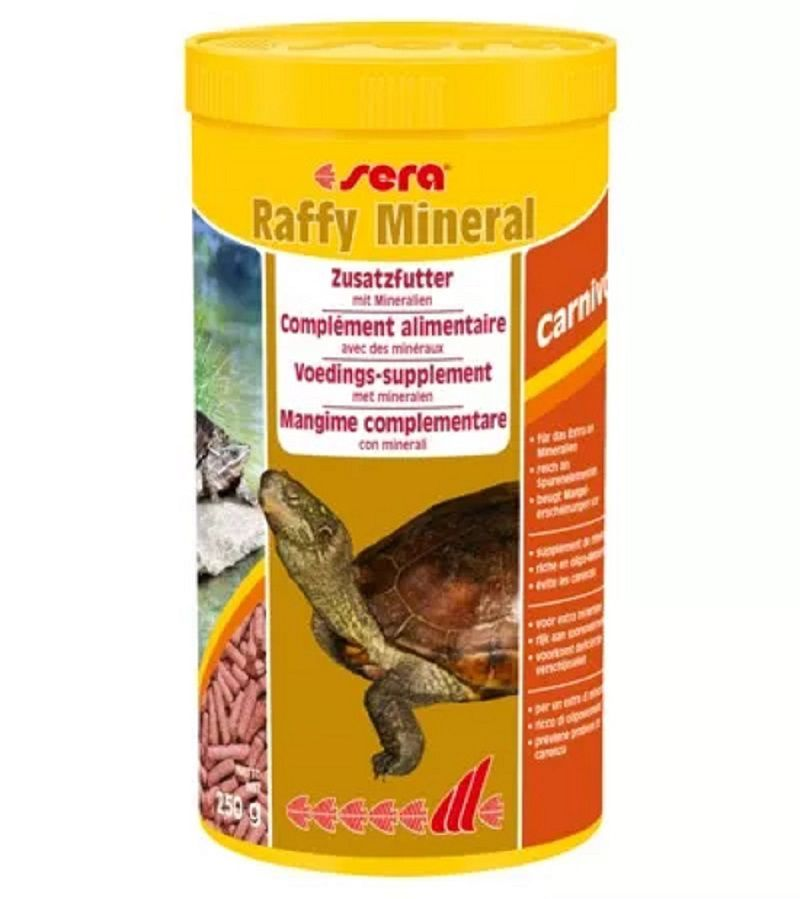 Ração Sera Réptil Raffy Mineral 250G