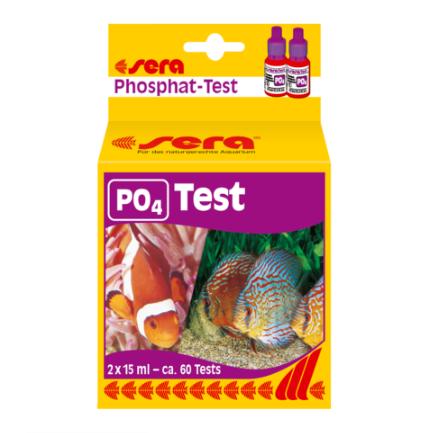 Teste de Fosfato - PO4 Sera para Água Doce e Salgada