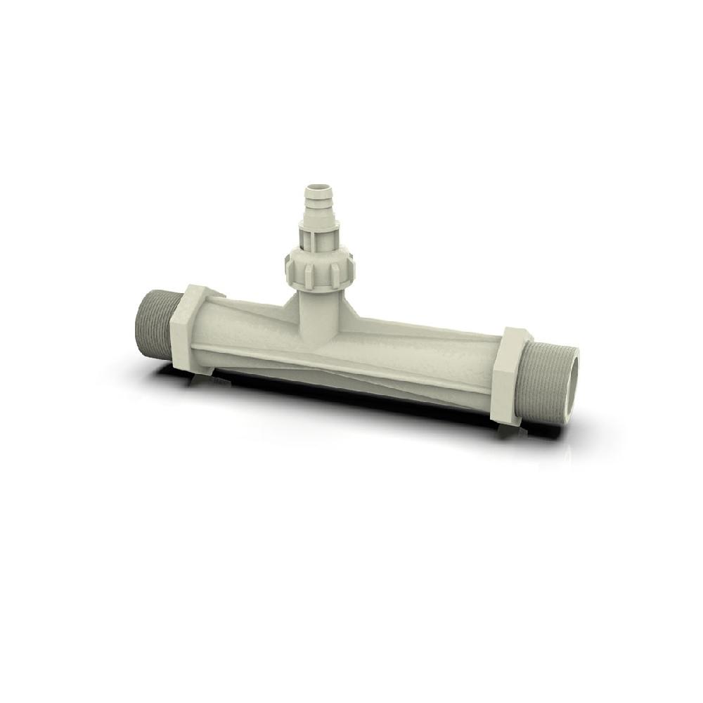 Venturi para Instalação de Gerador de Ozônio 1 1/2 polegadas