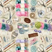 Coleção Artesanal - Tricô/Crochê (50x150cm)